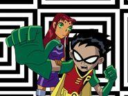 Teen Titans Robin and Starfire 839393932
