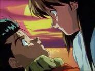 Yusuke Keiko love moment