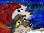 Balto and Jenna FanArt (9)