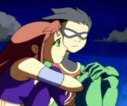 Teen Titans Robin and Starfire 61691250