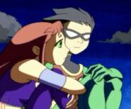 Teen Titans Robin and Starfire 61691250