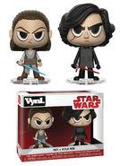 Funko Vynl Star Wars Rey & Kylo Ren