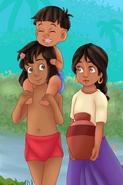 Mowgli Shanti and Ranjan 2839930902