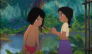 Mowgli and Shanti are both sad