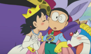 Shizuka Kisses Nobita 3