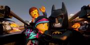 Wyldstyle and Batman