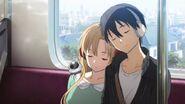 Asuna & Kirito Ordinal Scale Ending Credits (2)