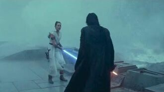Rey Vs Kylo On The Death (Part 3) HD Star Wars Rise Of Skywalker