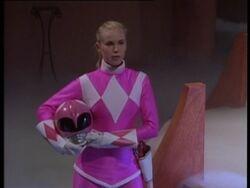Katherine Hillard Mighty Morphin Pink