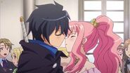 Louise and Saito Kiss Attempt S4E4 (1)