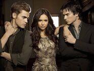 Elena, Damon & Stefan Love Triangle (8)