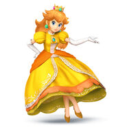 Peach SSB4 Artwork - Daisy