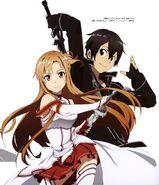 Asuna & Kirito Poster (9)