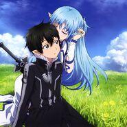 Asuna & Kirito Poster (19)