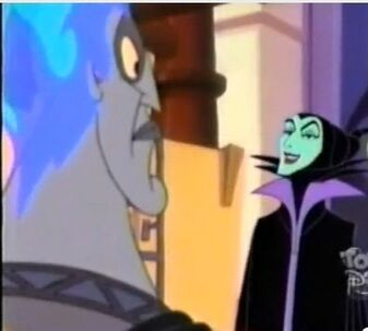 Maleficent likes Hades