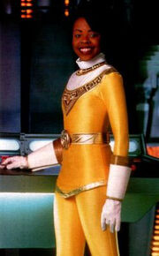 Tanya Yellow Zeo Ranger