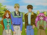 Momoko & Yousuke and Yuri & Yanagiba E42