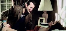 Peter Venkman and Dana Barrett