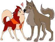 Balto and Jenna FanArt (1)