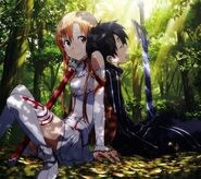 Asuna & Kirito Promotional Pic (14)
