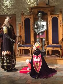 Being-knighted