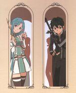 Asuna & Kirito Poster (23)
