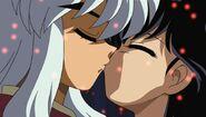 Inuyasha & Kagome Kiss Movie 2