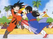 Chichi vs goku