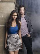Damon & Elena Poster (1)