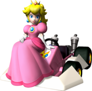 MKDS-Peach Artwork