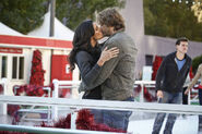 Kensi and Deeks Kiss - Promotional Pic