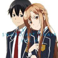 Asuna & Kirito Poster (3)