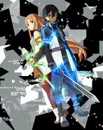 Asuna & Kirito (Sword Art Online Ordinal Scale) Pic (10)