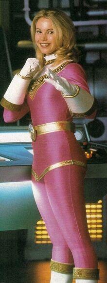 PRZ-Magazine-UK-Character - Kat the Pink Ranger - 1997
