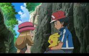 Ash and Serena moment 2