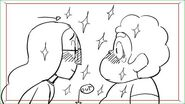 Steven Universe An Inderect Kiss Steven and Connie storyboard