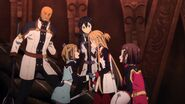 Asuna & Kirito Sword Art Online Ordinal Scale (65)