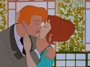 William & Angelica First Kiss