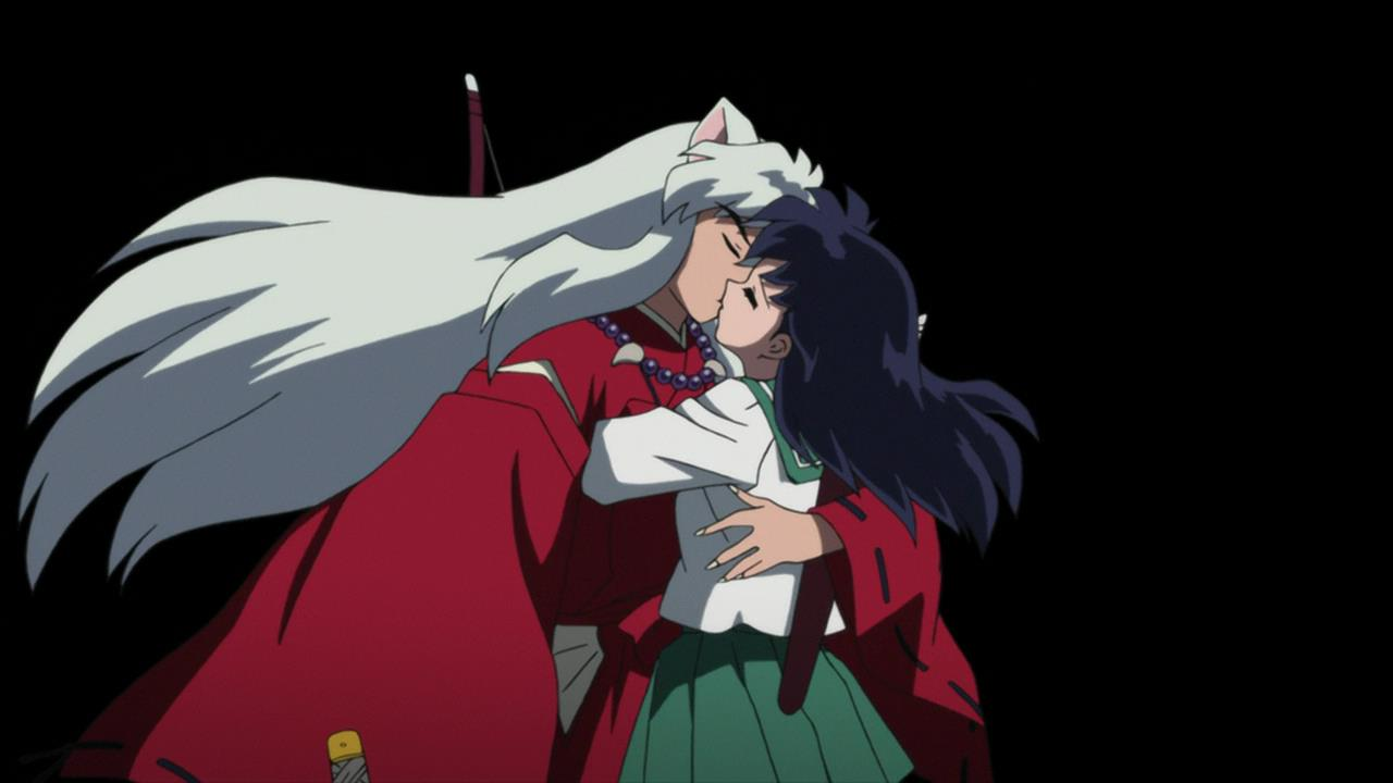 When does inuyasha and kagome start dating