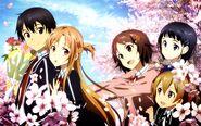 Asuna & Kirito Promotional Pic (2)