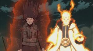 Naruto-gives-hinata-kuramas-chakra
