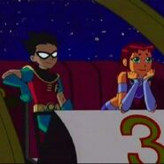 Teen Titans Robin and Starfire 8292929292002