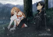 Asuna & Kirito Promotional Pic (22)