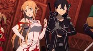 Asuna & Kirito Sword Art Online Ordinal Scale (70)