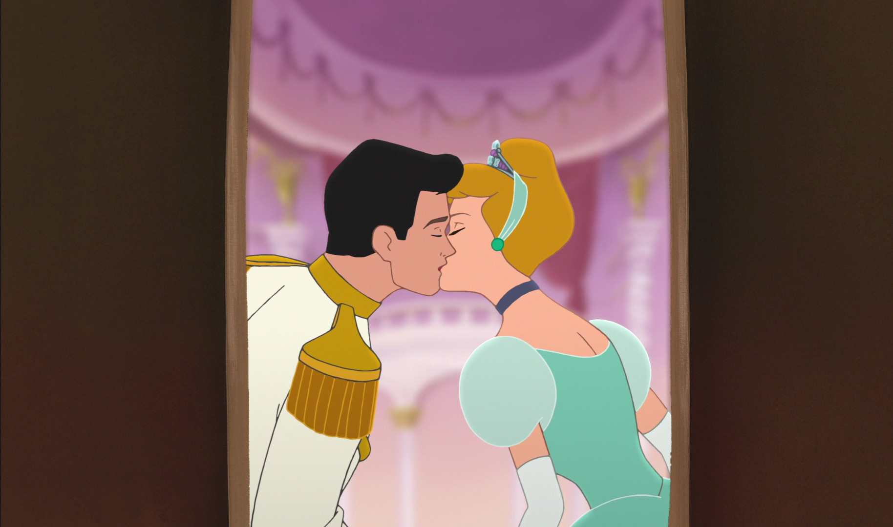 Cinderella And Prince Charmings Kiss In II