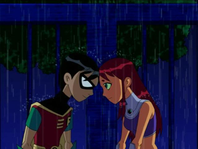 Are starfire and robin dating