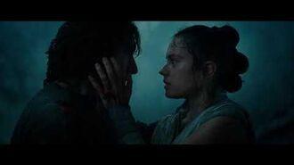 Star Wars the rise of skywalker - ben & rey kiss 1080p