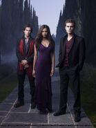 Elena, Damon & Stefan Love Triangle (6)