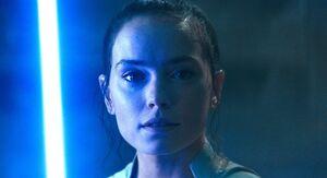 Rey sees Ben Solo
