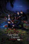 The Vampire Diaries S3 Poster
